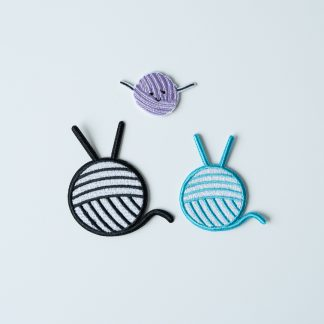 knitting patches