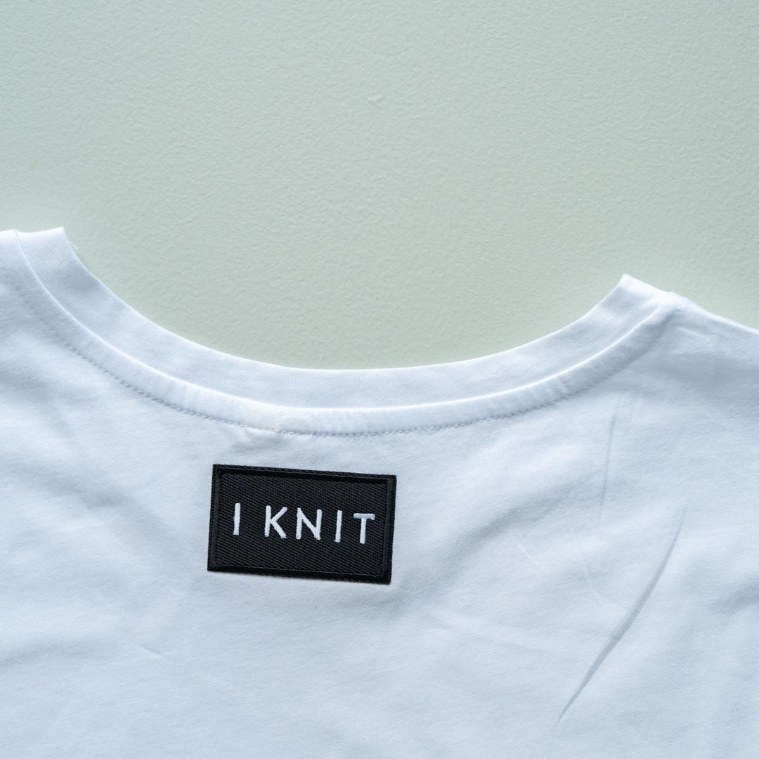 knit label black