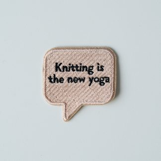 embroidery patch knitting