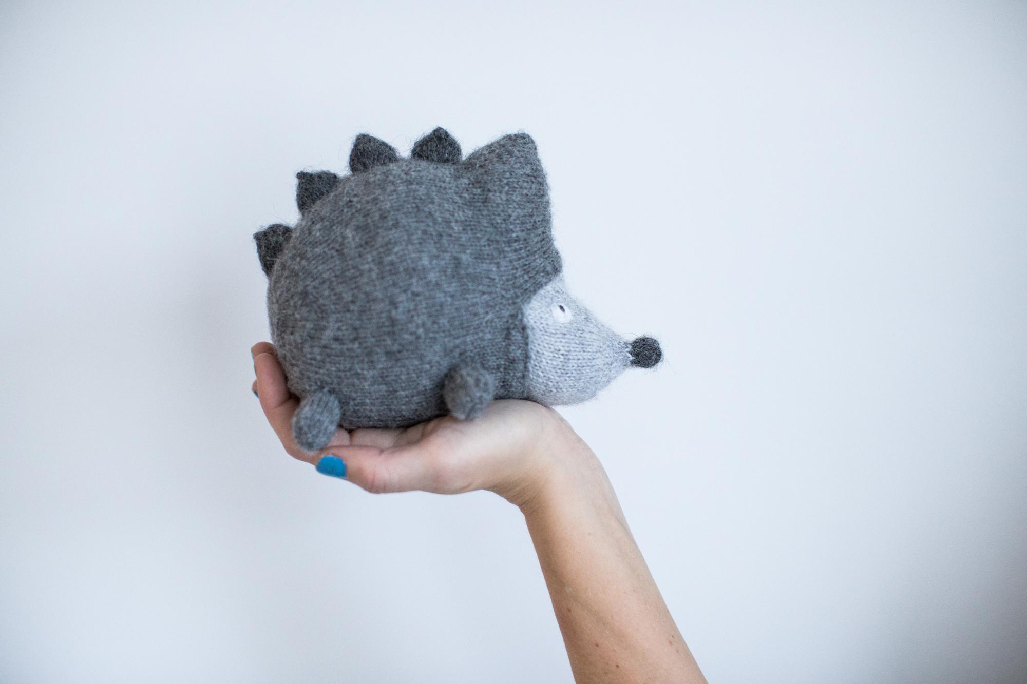 pinnsvin hedgehod knittingpattern
