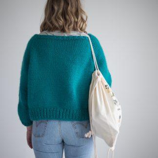 knitting pattern women chunky jacket