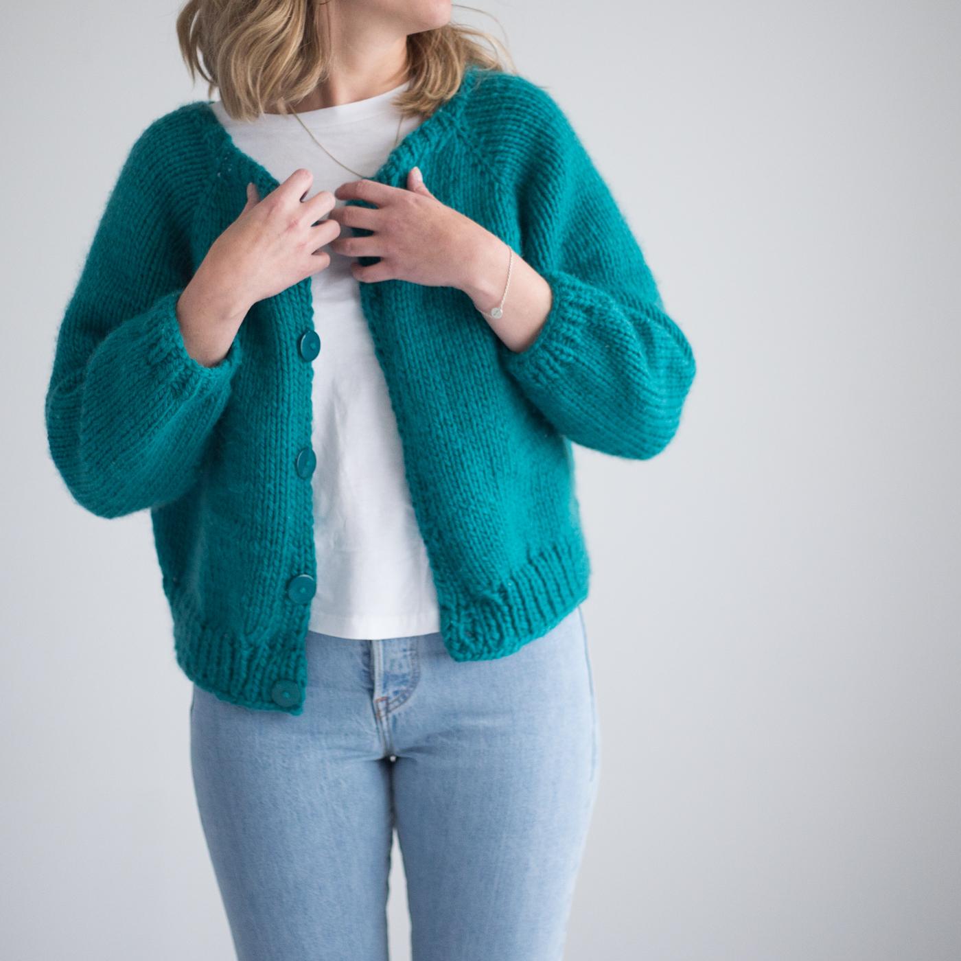 short jacket knitting pattern