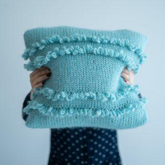 knitting pattern cushion