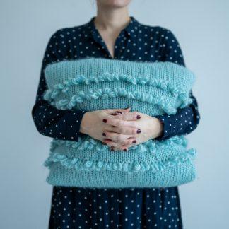cushion knitting pattern