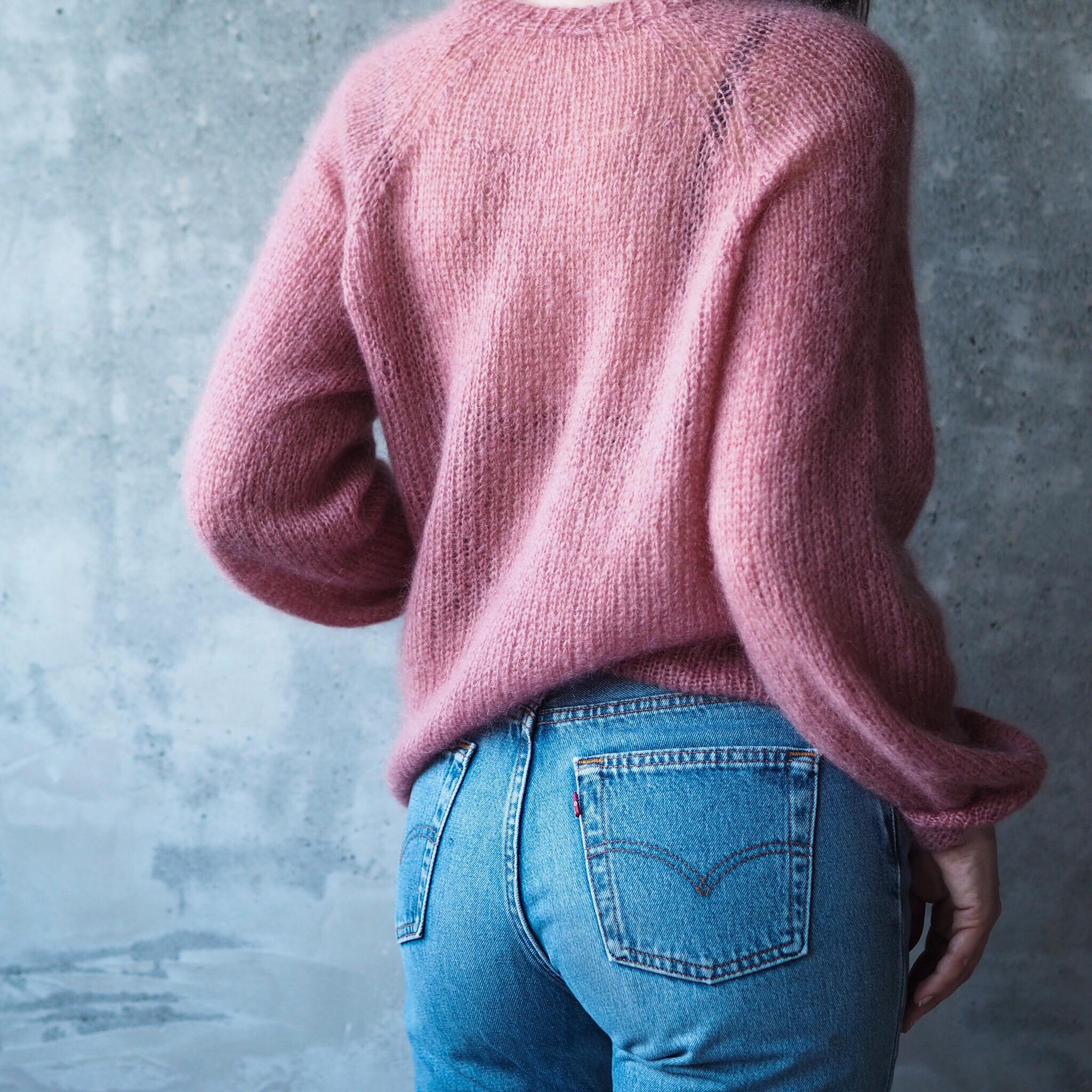 sukkerspinn genser