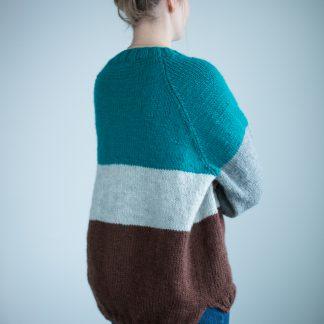 strikkegenser oppskrift dame