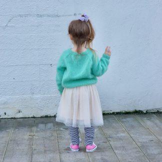 enkel genser barn oppskrift
