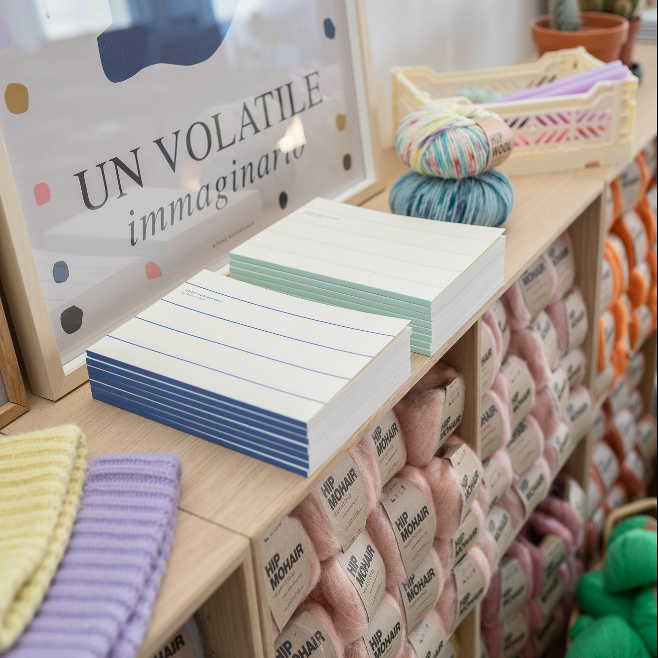 knitting journal blank pages